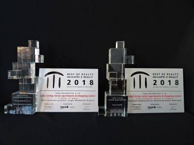 Držitelem titulu Best of Realty 2018 v kategorii Větších rezidenčních projektů se stal projekt Luka Living