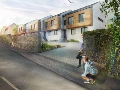 Projekt Viladomy Ořech kombinuje klid rodinného domu s moderním bydlením ve stylovém bytě