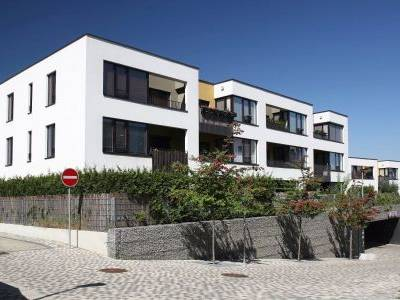 Modřanský Háj zkolaudoval další 4 bytové domy