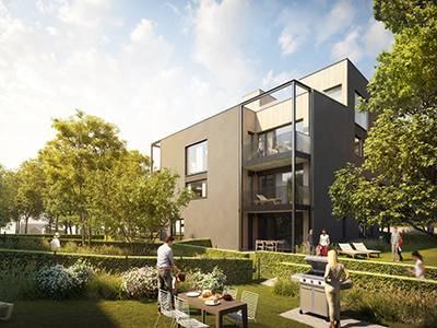 Nový bytový areál Chytrého bydlení vyrůstá v Braníku