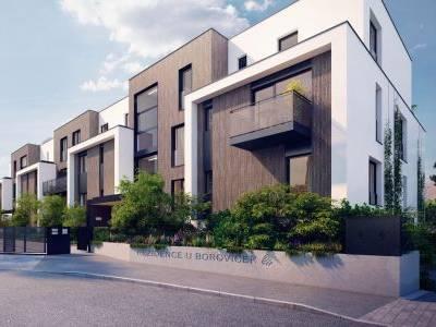 Rezidence U Boroviček nabízí komorní městské bydlení v srdci přírody