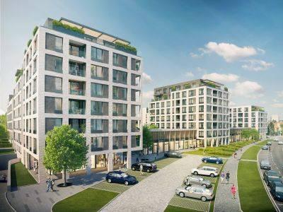 JRD zahájila výstavbu rezidenčního areálu Green Port Strašnice