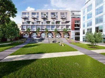 Projekt Karlín Group a katolické církve láká kupce, prodáno je více než 50 procent bytů