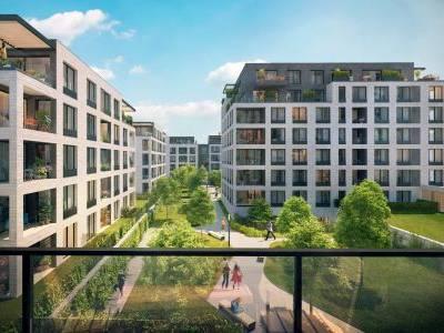 Rezidenční projekt Rezidence Silver Port má hrubou stavbu