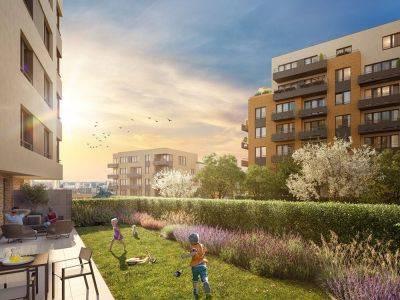 Central Group pro velký zájem zařazuje do prodeje nové byty v projektu Výhledy Chodovec