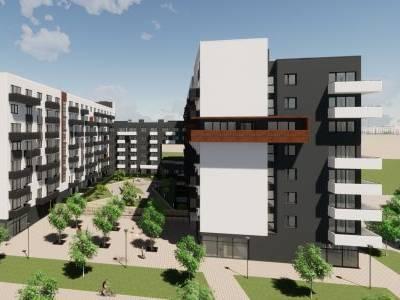 Apartmánový dům v AFI CITY má již základy. Devítipodlažní stavba s 320 nájemními apartmány začíná růst